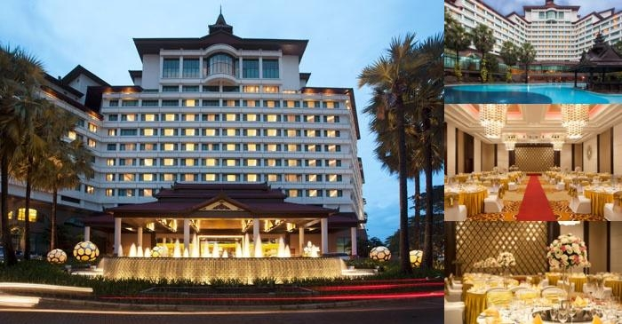 Sedona Hotel Yangon photo collage