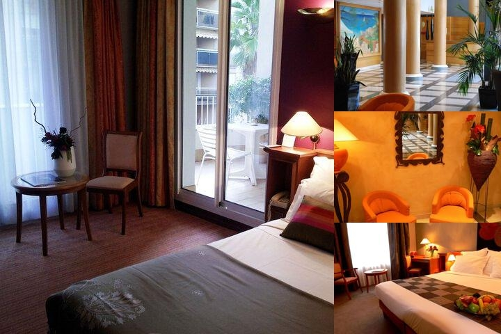 Hotel Amarante Cannes photo collage