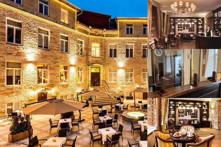 The Von Stackelberg Hotel Tallinn photo collage