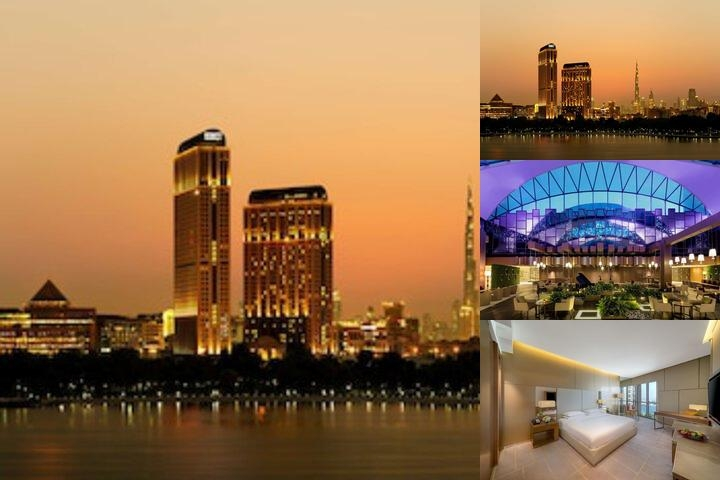 Hyatt Regency Dubai Creek Heights photo collage