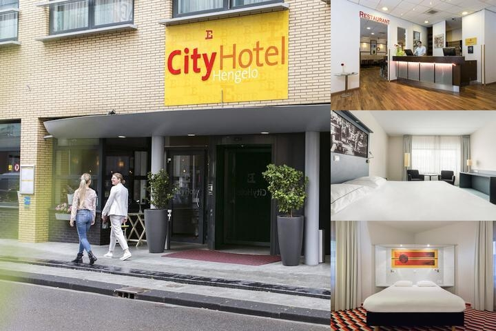 Hampshire City Hotel Hengelo photo collage