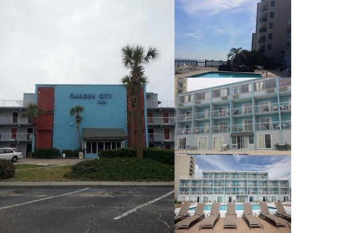 Garden City Inn Oceanfront Hotel photo collage