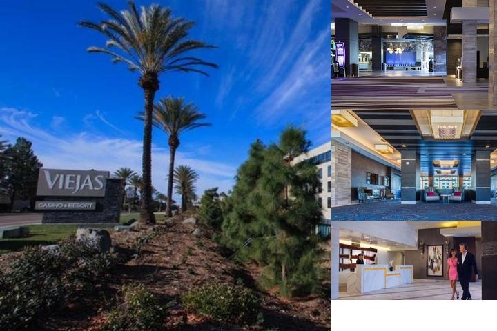 Viejas Casino & Resort photo collage