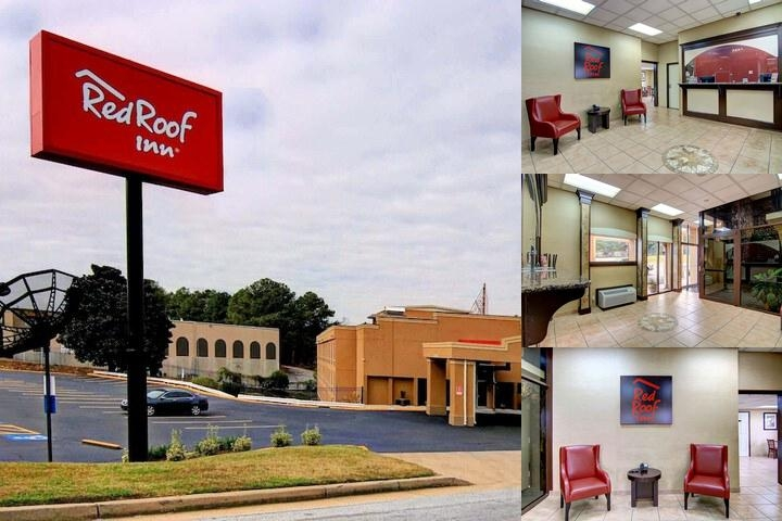 Red Roof Inn Atlanta Six Flags photo collage