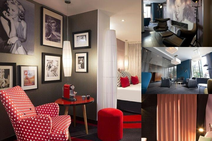 Platine Hotel photo collage