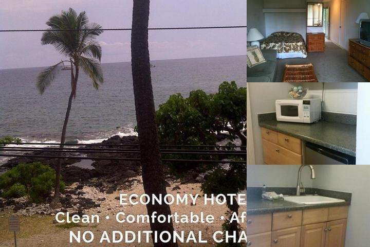 Kona Islander Inn Hotel photo collage