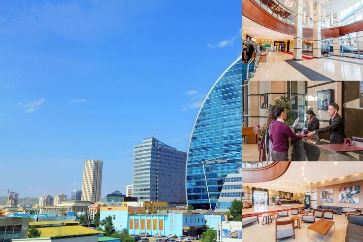 The Blue Sky Hotel & Tower photo collage