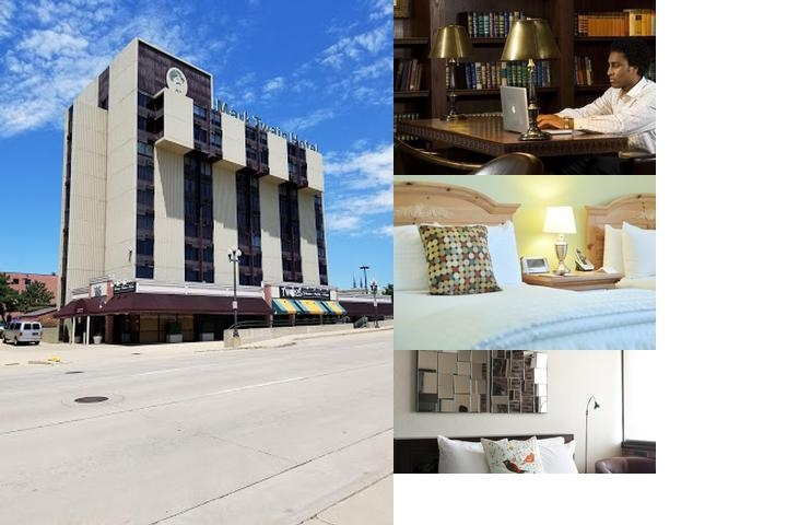 Mark Twain Hotel photo collage