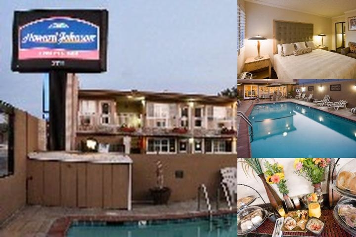 Howard Johnson Express San Mateo photo collage