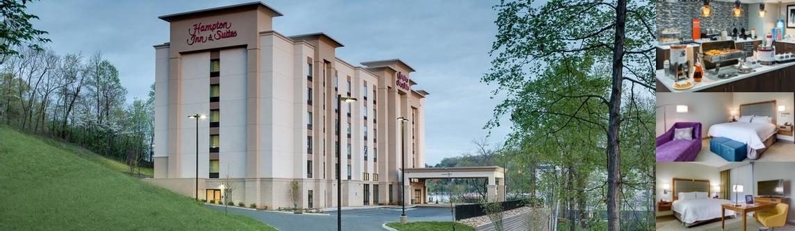 Hampton Inn & Suites Knoxville Papermill photo collage