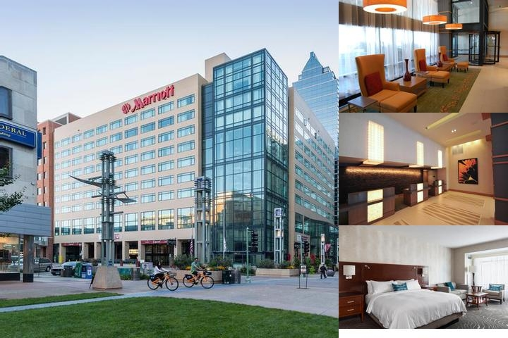 Rochester Marriott photo collage