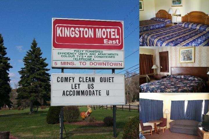Kingston Motel East photo collage
