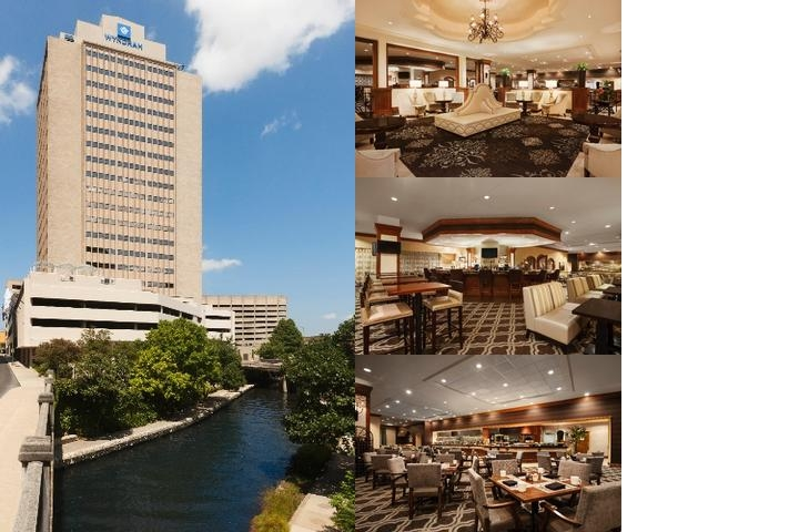 Wyndham San Antonio Riverwalk photo collage