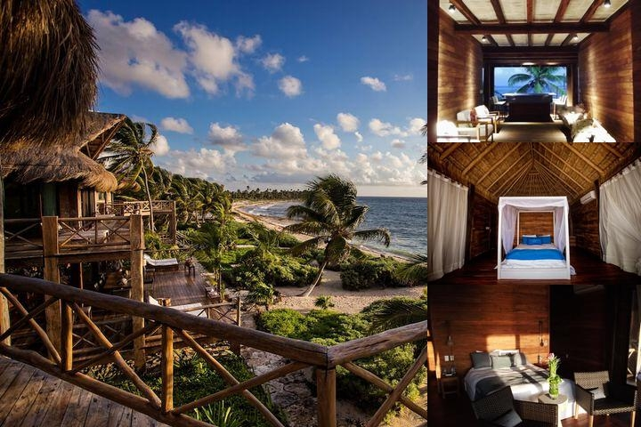 Sian Ka'an Luxury Vacation Home All Inclusive photo collage