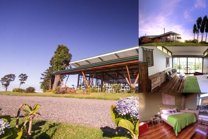 Chayote Lodge photo collage