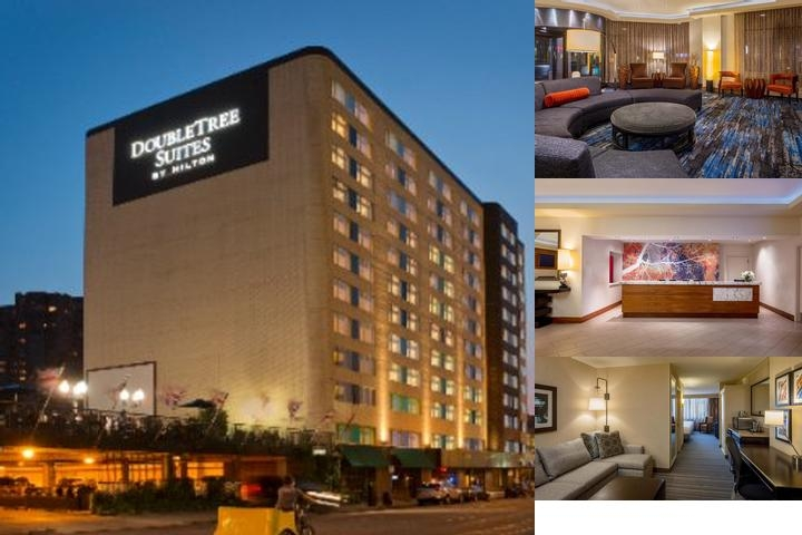 Doubletree Suites Minneapolis photo collage