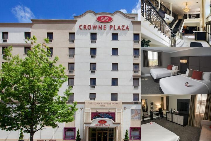 Crowne Plaza Fredericton Lord Beaverbrook photo collage