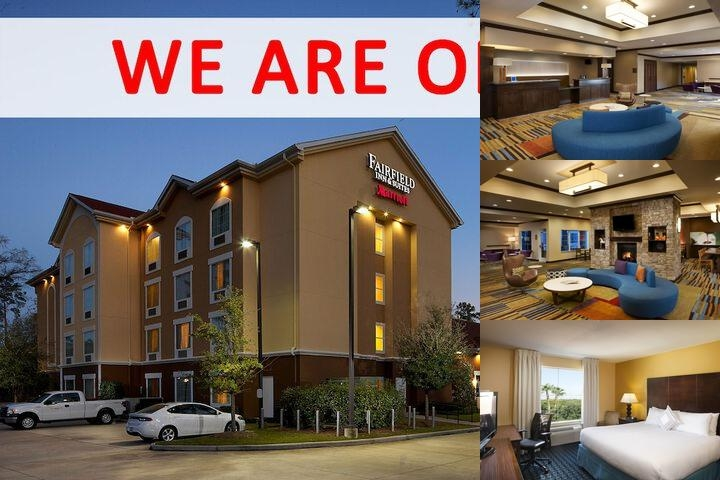 Fairfield Inn & Suites & Conference Center photo collage