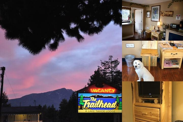 The Trailhead Lodge photo collage