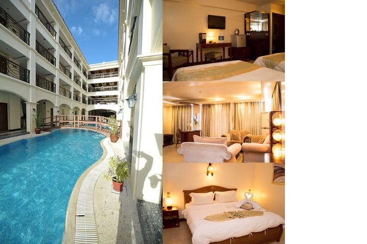 Golden Phoenix Hotel Boracay photo collage