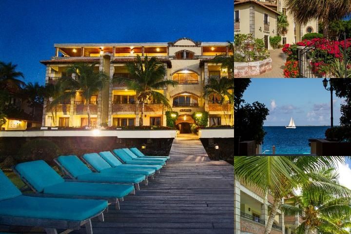 Bellafonte Luxury Oceanfront Hotel photo collage