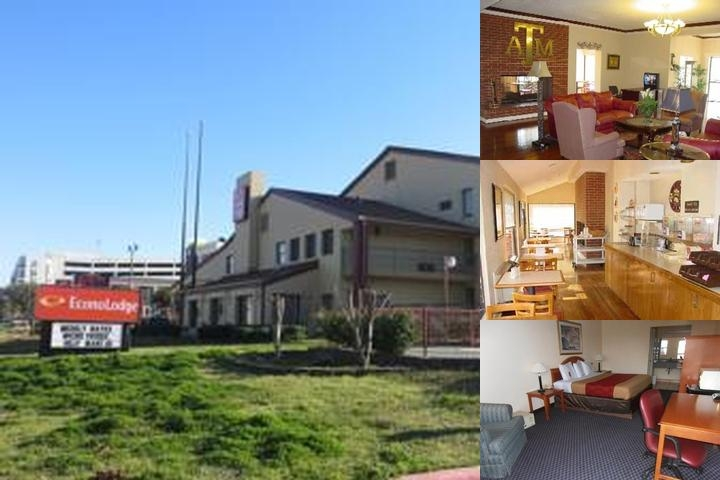 Econo Lodge College Station photo collage