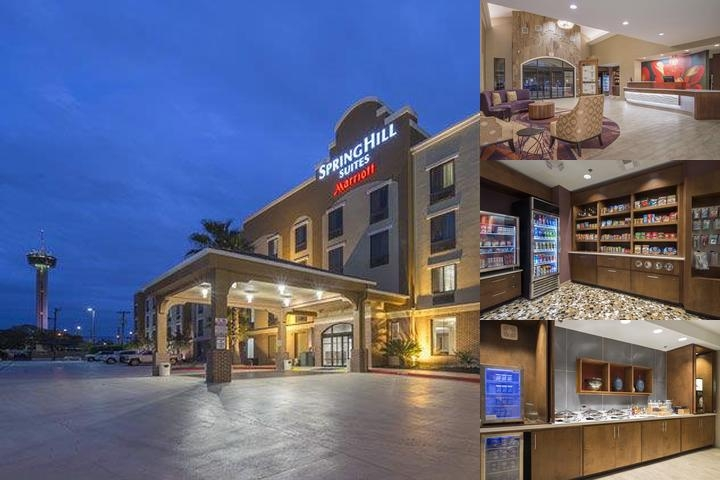 Springhill Suites by Marriott San Antonio Downtown photo collage