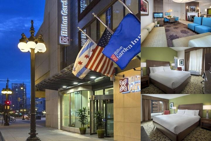 Hilton Garden Inn Chicago / North Loop photo collage