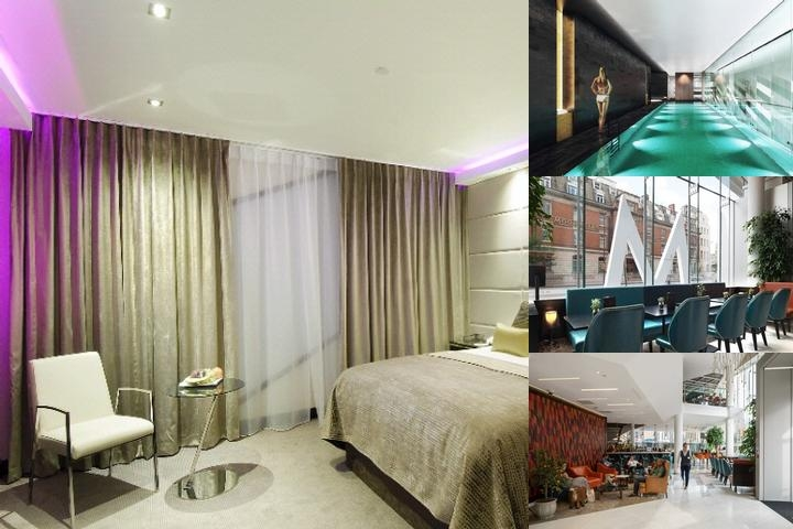 Montcalm Hotels Ltd 27 Devonshire Terrace London W2 3dp photo collage