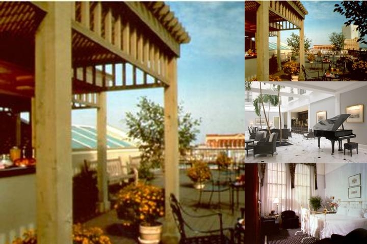 The Tremont House a Wyndham Grand Hotel photo collage