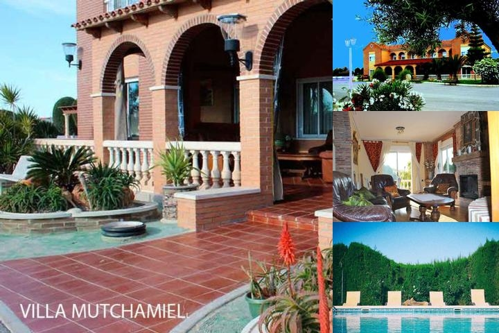 Villa Mutxamel photo collage