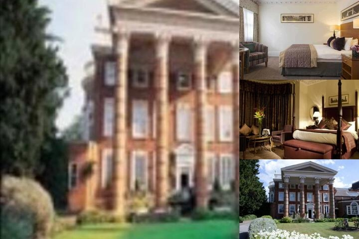 Hendon Hall photo collage