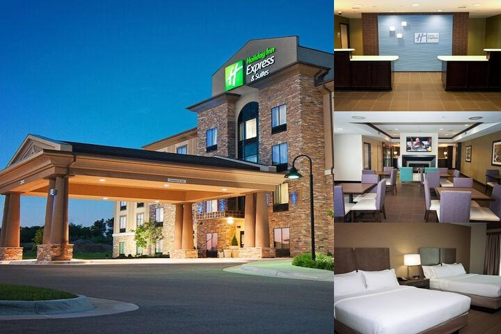 Holiday Inn Express & Suites Wichita Northeast photo collage
