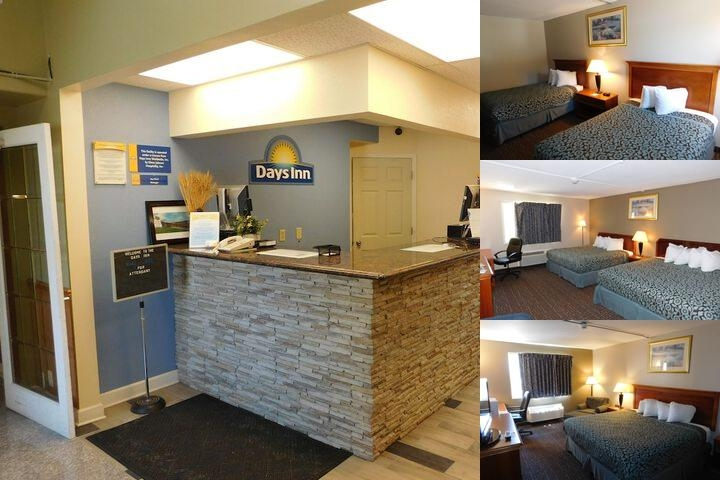 Days Inn West Branch Iowa photo collage