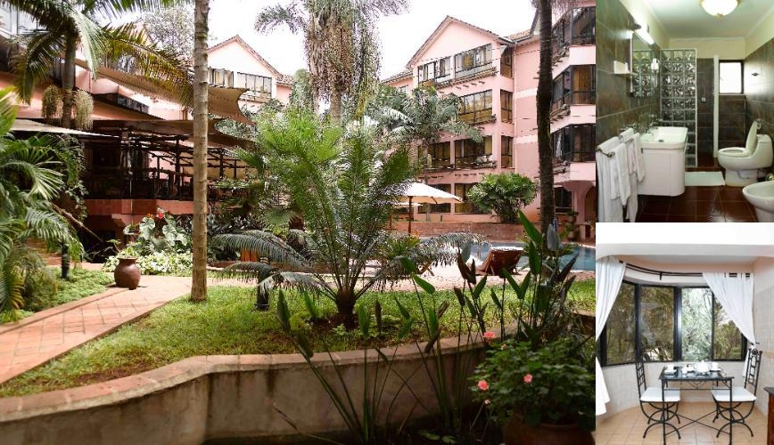 Wasini All Suite Hotel Nairobi photo collage