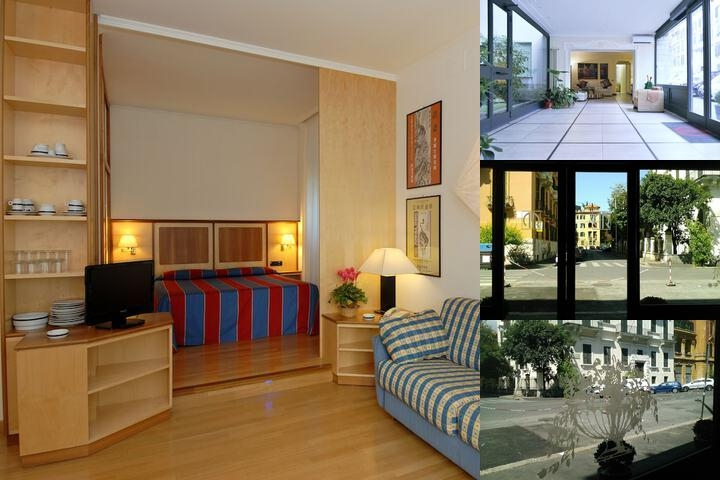 Residence Prati photo collage