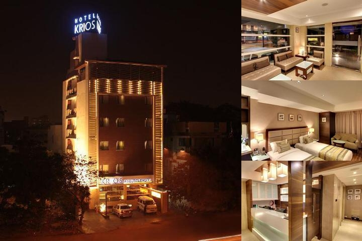 Krios Hotel photo collage