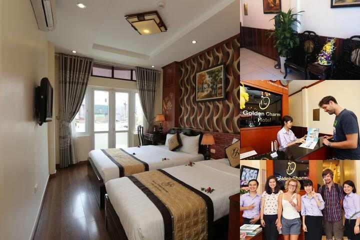 Hanoi Golden Charm Hotel photo collage