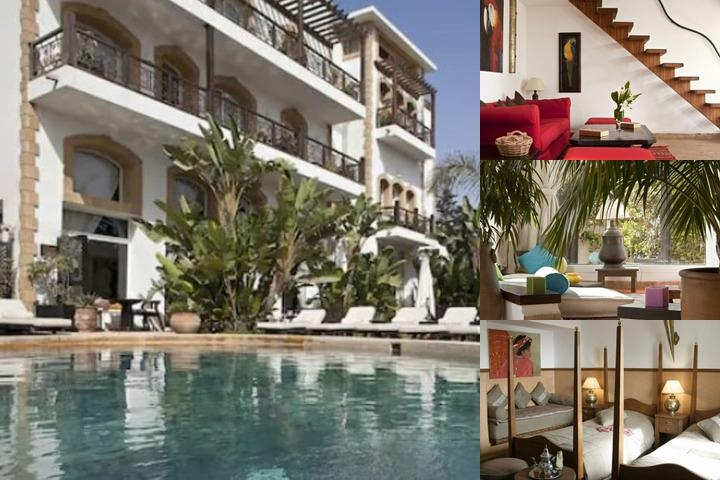 Hotel Ocean Vagabond Essaouira photo collage