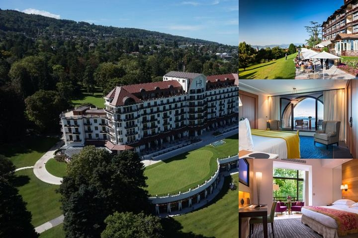 Evian Resort photo collage