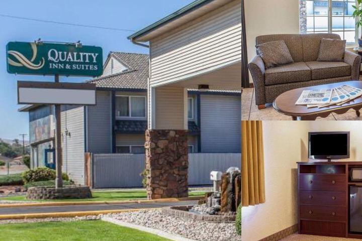 Quality Inn & Suites Toppenish Yakima Valley photo collage