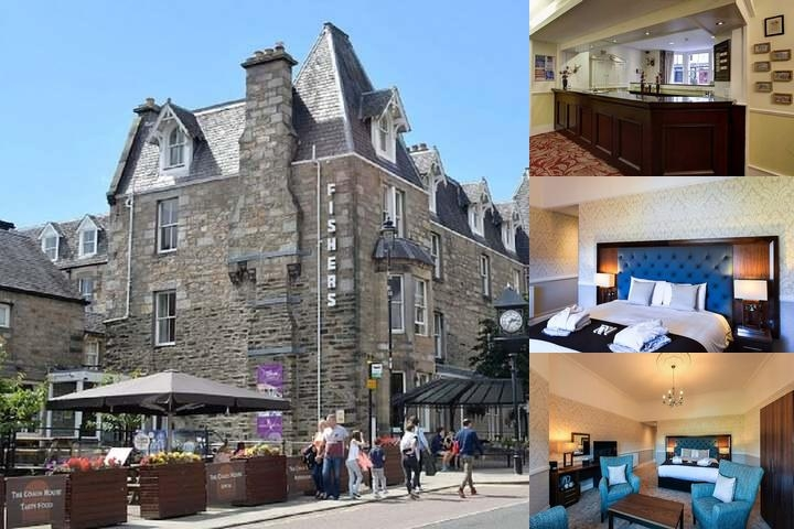 Fishers Hotel Pitlochry photo collage