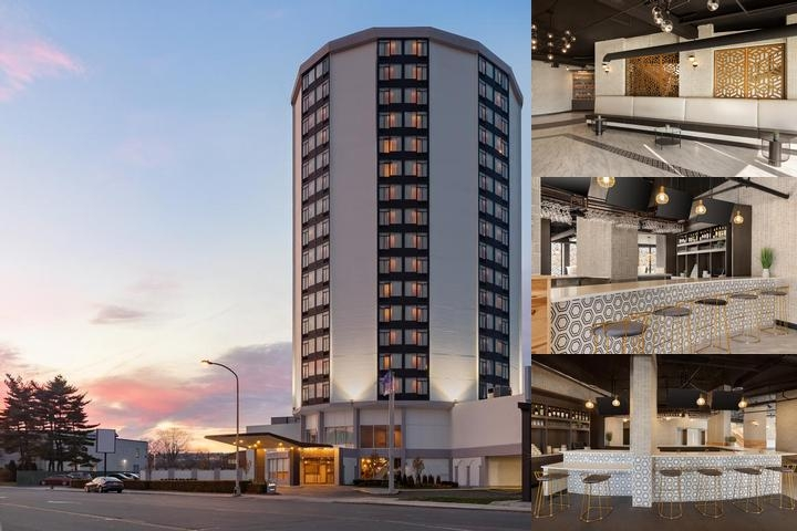 Penrose Hotel Philadelphia photo collage