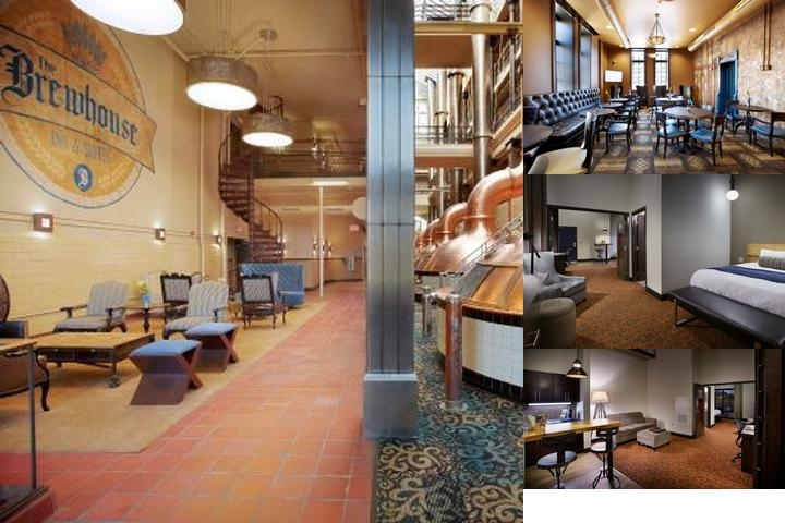The Brewhouse Inn & Suites photo collage