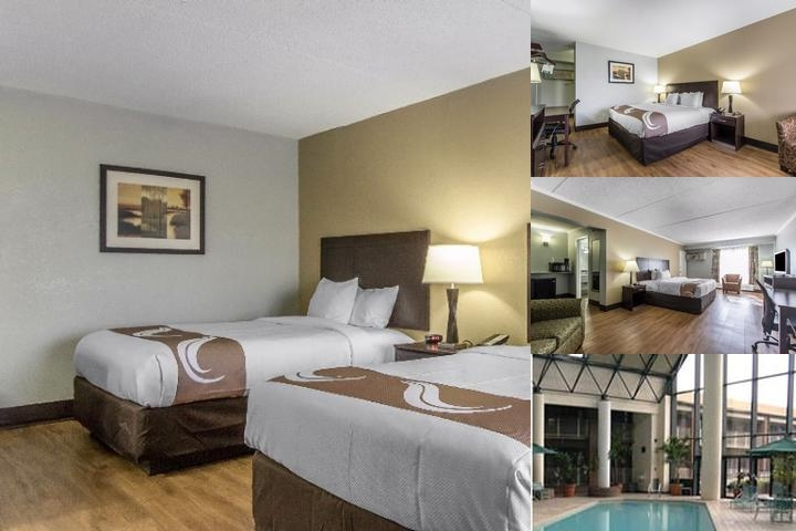 Quality Inn Downtown Historic District photo collage