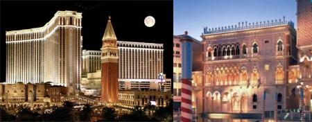 The Venetian | The Palazzo Hotel Resort & Casino photo collage