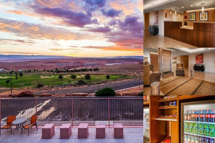 Best Western View of Lake Powell Hotel photo collage