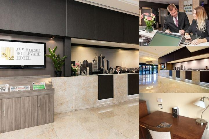 The Sydney Boulevard Hotel photo collage