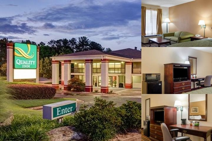 Quality Inn Stone Mountian photo collage
