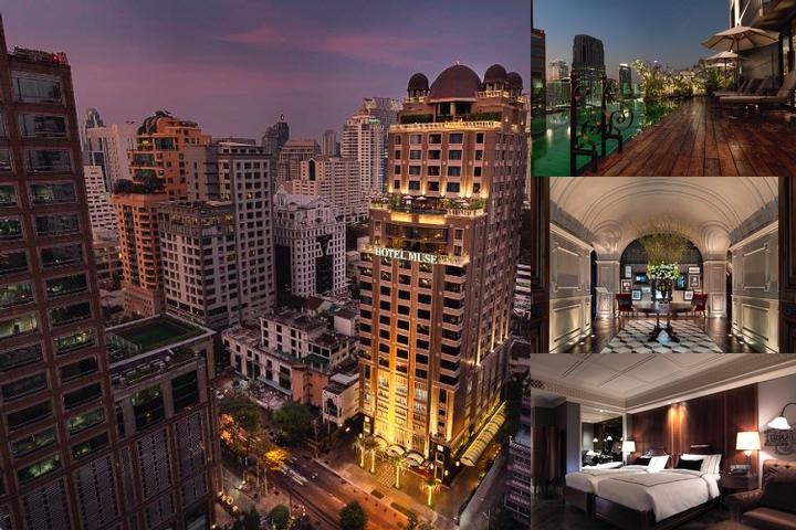 Hotel Muse Bangkok Langsuan a Mgallery Collection photo collage